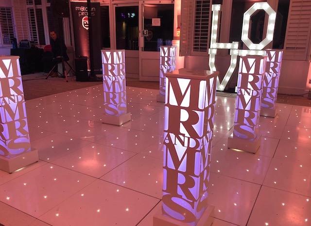 Light Up LOVE Block Letters