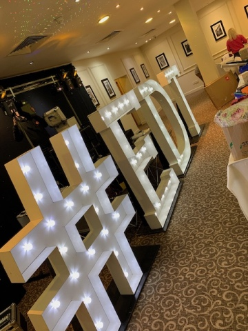 Light Up # & Letters