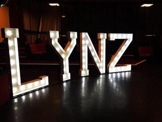 Light Up LYNZ Letters