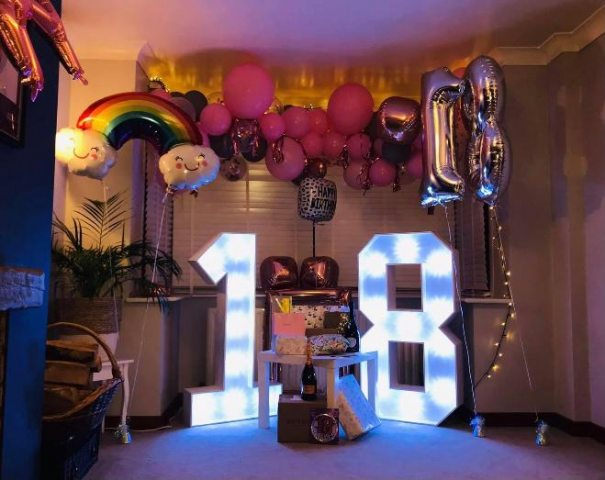 Light Up 18 Numbers