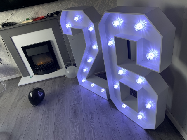 Light Up 26 Numbers