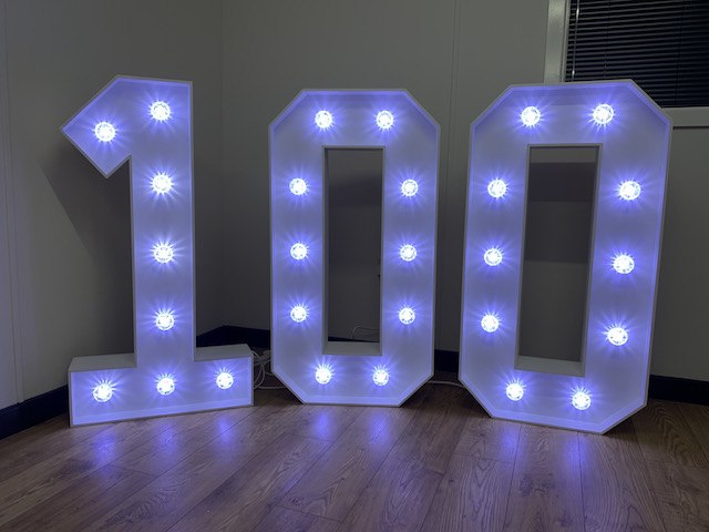 Light Up 100 Numbers