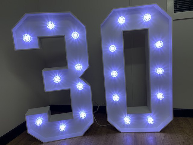Light Up 30 Numbers