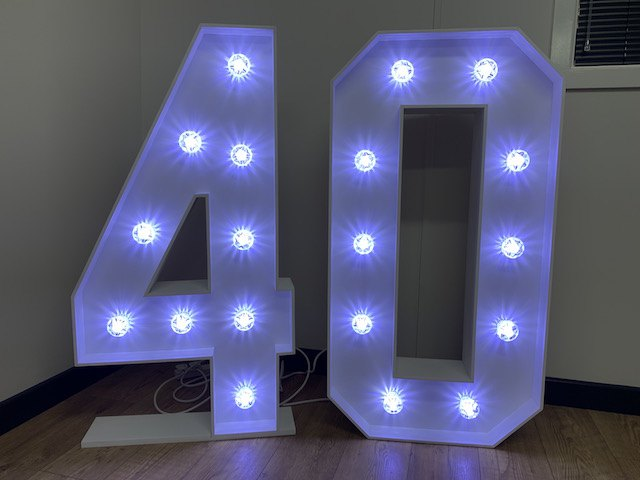 Light Up 40 Numbers