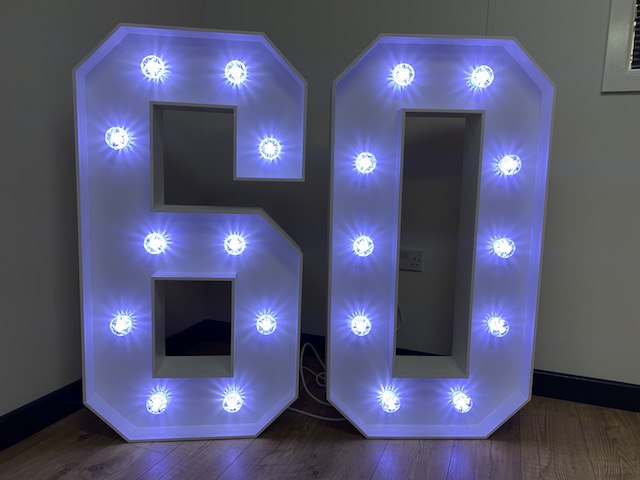 Light Up 60 Numbers