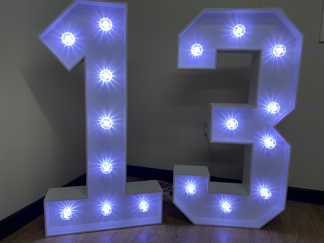 Light Up 13 Numbers