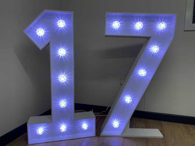 Light Up 17 Numbers