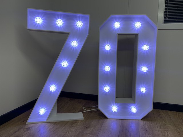 Light Up 70 Numbers