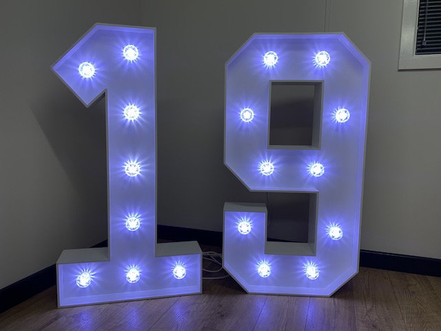 Light Up 19 Numbers